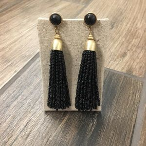 Stella & Dot Gita Tassel Earrings